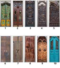Vintage, doorstciker, Fashion, Door