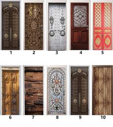 doorstciker, Fashion, Door, Home Decor