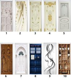 doorstciker, Door, Home Decor, Classics