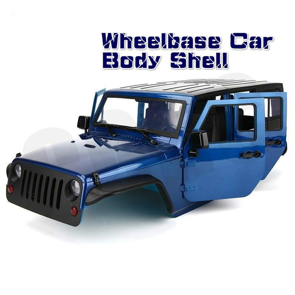 WYY Hard Plastic Body Car Shell Unassembled Kit,RC Crawler Car Parts,for 313Mm Wheelbase Axial SCX10 90046 Traxxas TRX4 Ford Bronco