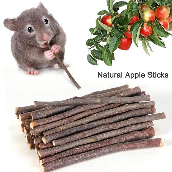 cleaningteeth, Wood, applewoodstick, chewtoy