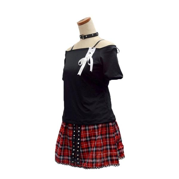 Assassination Classroom Shiota Nagisa Girl Punk Uniforms Cosplay Costume  Full Set with Accessory | Wish