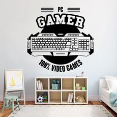Video Games, art, Home Decor, wallartsticker