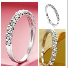 Sterling, Plus Size, Unique Rings, wedding ring