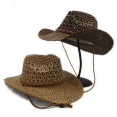 Summer, Fashion, Beach hat, westerncowboyhat