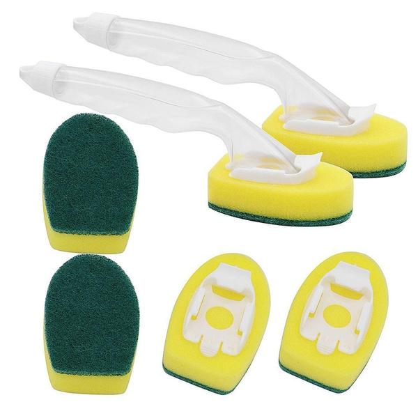 householditem, dishwashingsponge, cleaningbrush, nonstickydishwashingsponge
