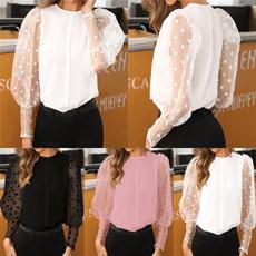 blouse, roundneckshirt, Fashion, Lace