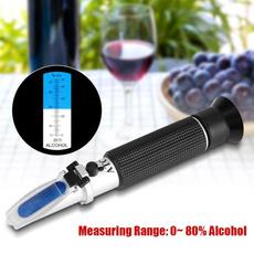 alcoholtest, alcoholtestrefractometer, hydrometer, winetester