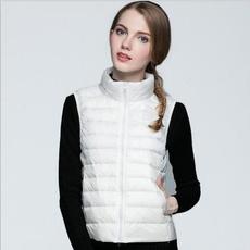 Vest, lights, puffervest, Coat
