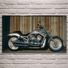 Decor, Motorcycle, art, Dining & Bar