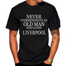 Football, Liverpool, Cotton T Shirt, lettertshirt