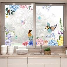 PVC wall stickers, Home & Kitchen, flowersbirdswallsticker, Flowers