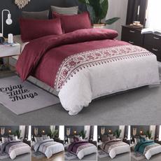 King, Pillow Shams, Bedding, Home textile