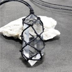 crystal pendant, Jewelry, Crystal Jewelry, whitecrystal