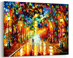 canvasart, Wall Art, leonidafremov, Home & Kitchen