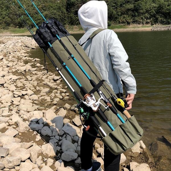 fishingrodbag, fishingstoragebag, fishingtacklebag, Outdoor