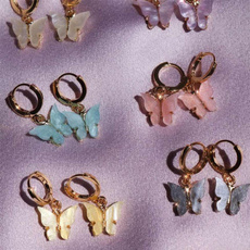 Sterling, butterfly, Korea fashion, Fashion
