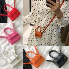 women bags, Shoulder Bags, PU Leather, Food