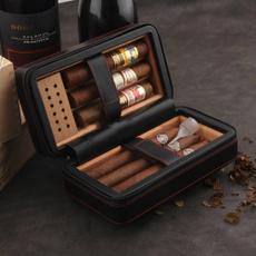 Box, case, cohiba, portable