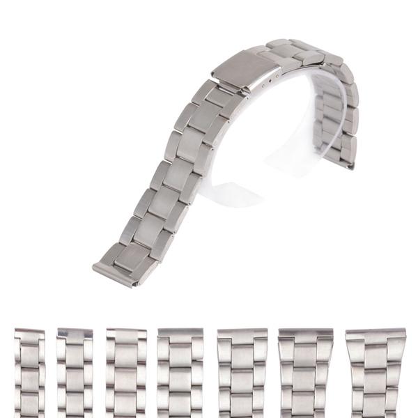 stainlesssteelwatchstrap, watchbandstrap, Jewelry, straightendwatchband