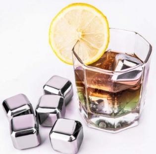 Steel, icegrain, whiskycoolerrock, Stainless Steel
