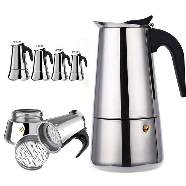 Steel, mochacoffeepot, Coffee, Stainless Steel