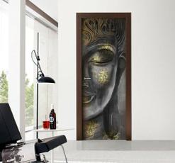 Head, Door, Home Decor, Waterproof