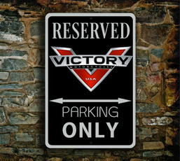 Decor, victorymotorcyclesign, art, Home Decor