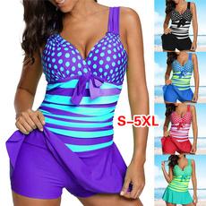 bathing suit, Plus Size, bikini set, Tankini Set