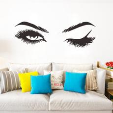 sexywomaneyeswallsticker, decoration, adesivodeparede, wandaufkleber
