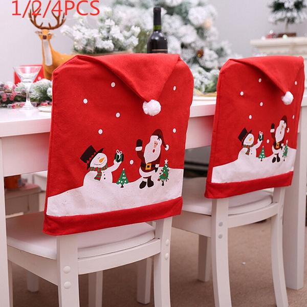 decoration, chaircover, Christmas, christmaschaircover