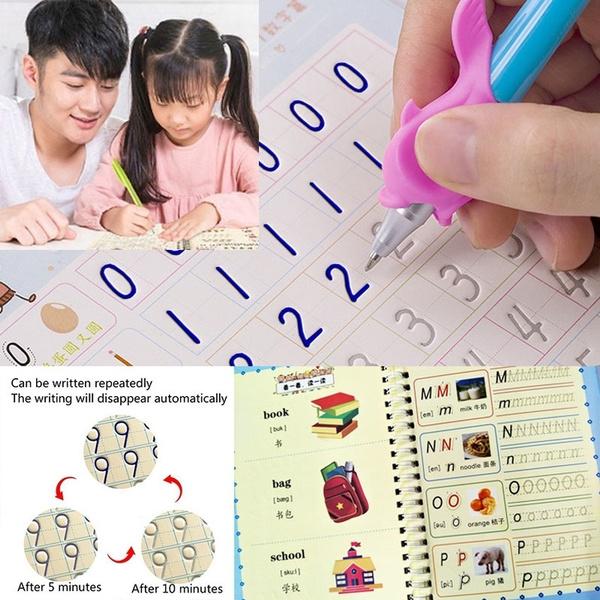 englishcopybook, calligraphybook, Pen, Magic