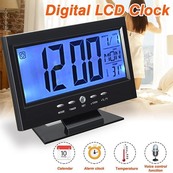 led, calendarclock, snoozeclock, Clock