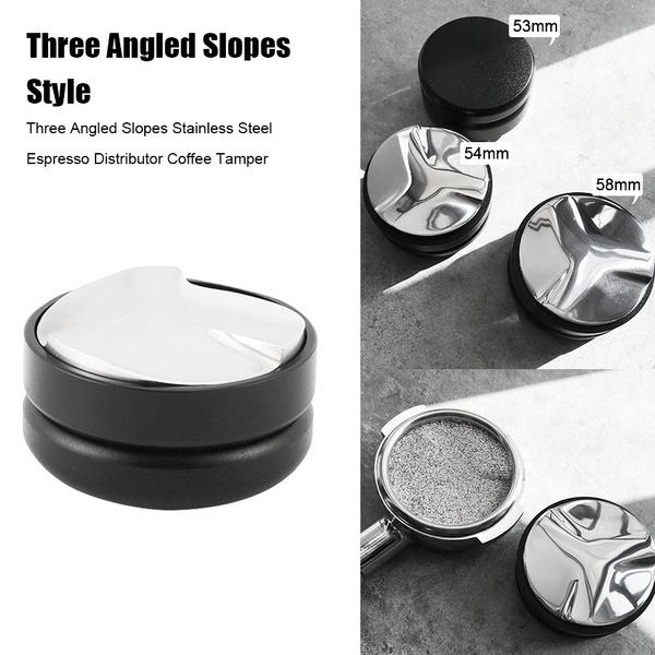58mm Coffee Tamper Stainless Steel Coffee Powder Distributor Pressing Tool