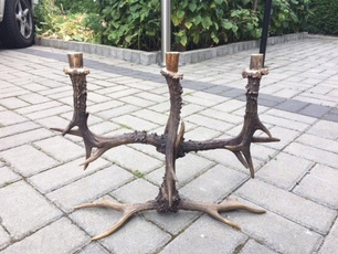 Home Decor, Ornament, Deer, Candles & Holders