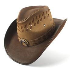 Cowboy, leather, Hats, Men