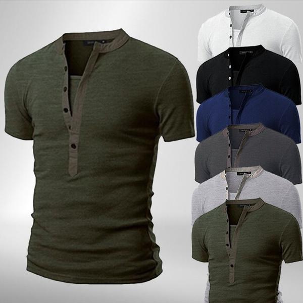 Summer, Shorts, Slim T-shirt, Sleeve
