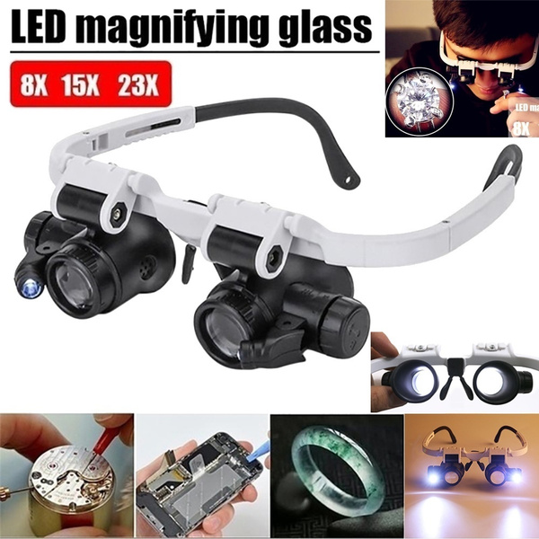 ledmagnifier, Head, led, watchrepair