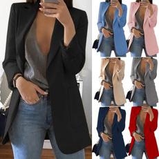 Plus Size, trenchcoatforwomen, Sleeve, outwearblazer
