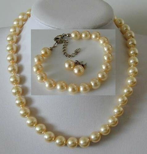 golden, Fashion, Jewelry, pearls