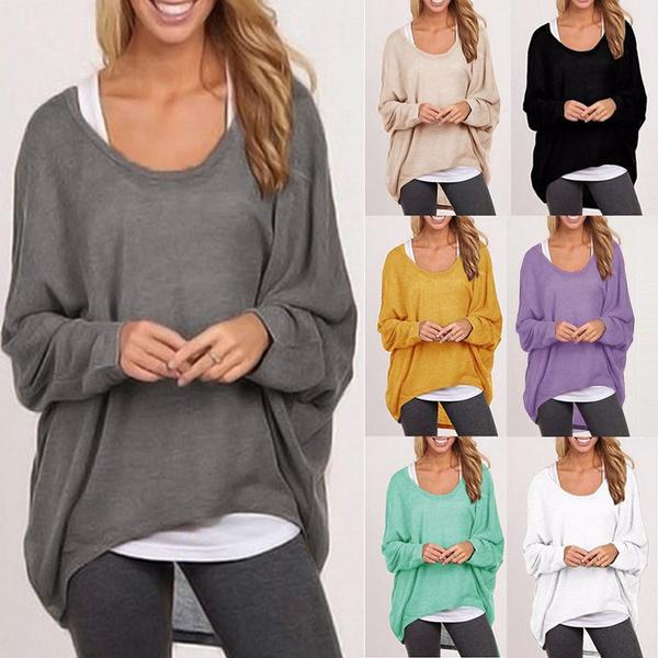 blouse, Women, Plus Size, Pullovers