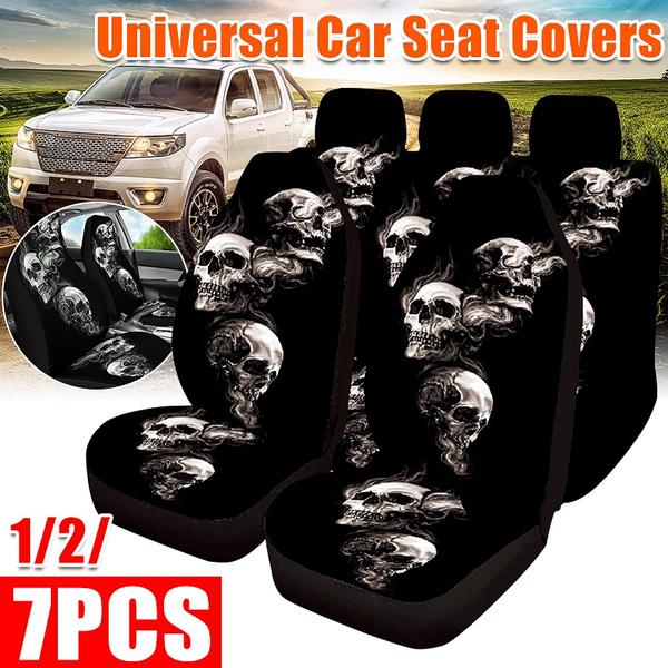 seatcoversforcar, carseatcushion, Cushions, skull