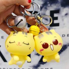 cute, keyringforbag, Chain, Bell