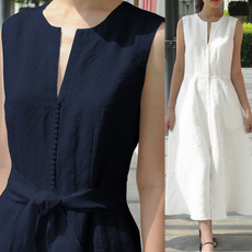 slimfitdres, Plus Size, vest dress, Summer