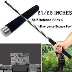 Outdoor, retractablestick, Metal, Tool