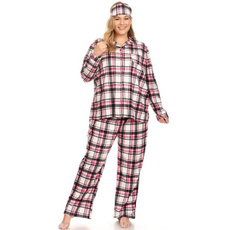 pink, Plus Size, Women's Fashion, plaid