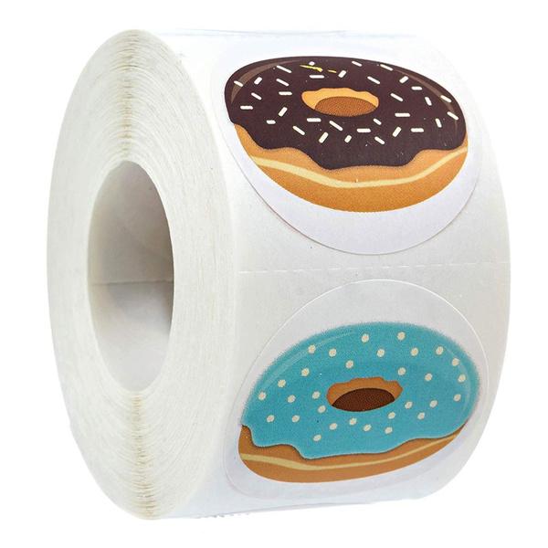 Baking, seallabel, donutlabel, donutsticker