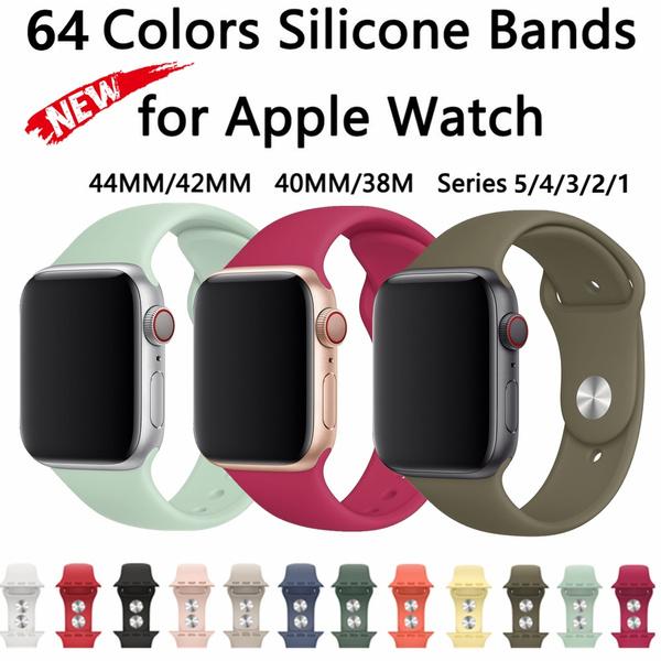 Bracelet, siliconeapplewatchband, Fashion, applewatchband44mm