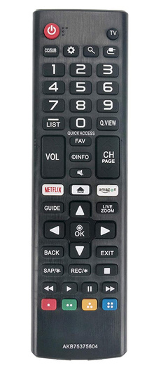 Lg, akb75375604, Home Theater & TVs, Remote