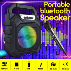 handheldmicrophone, stereobluetoothspeaker, Wireless Speakers, Speaker Systems